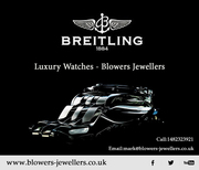 Breitling Watches - Luxury Watches - Blowers Jewellers