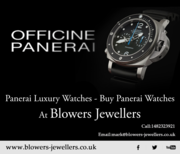 Panerai Luxury Watches - Buy Panerai Watches At Blowers Jewellers
