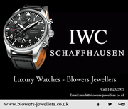 IWC Schaffhausen Luxury Watches - Blowers Jewellers